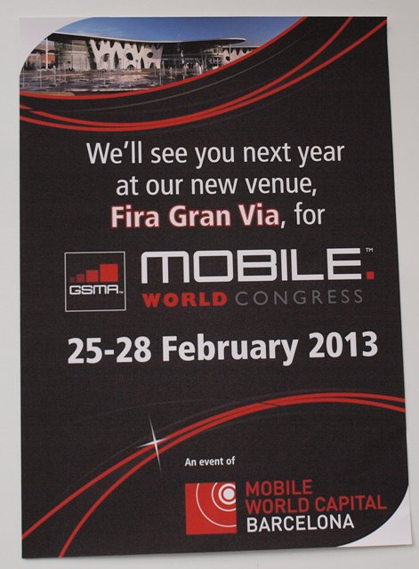 Mobile World Congress 2013   save the date
