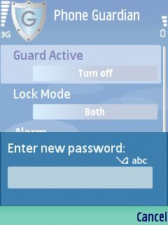 0a Phone Guardian review   lock your Series 60 phone automatically