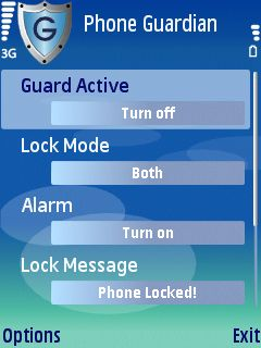1a Phone Guardian review   lock your Series 60 phone automatically