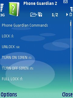 4b Phone Guardian review   lock your Series 60 phone automatically