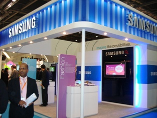 0a The Samsung Booth at the Symbian Smartphone Show