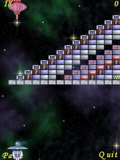 3a Meteor reviewed   Arkanoid for S60