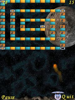 ball2 Meteor reviewed   Arkanoid for S60