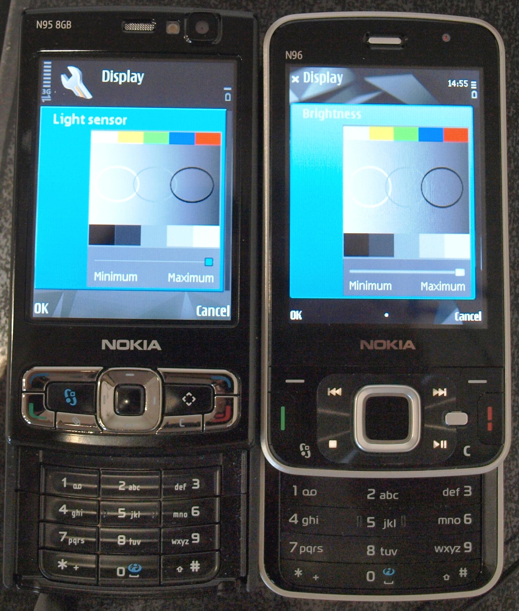 1788 x 2104 jpeg 2507kB, Nokia n96 preliminary review size comparison ...