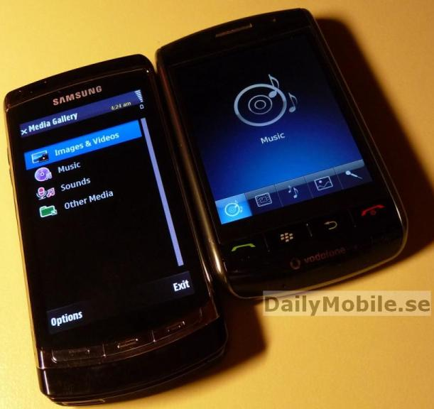 samsung touch Samsung ACME i8910   runs S60 touch