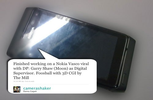 nokia vasco leak Nokia Vasco leaks via Twitter