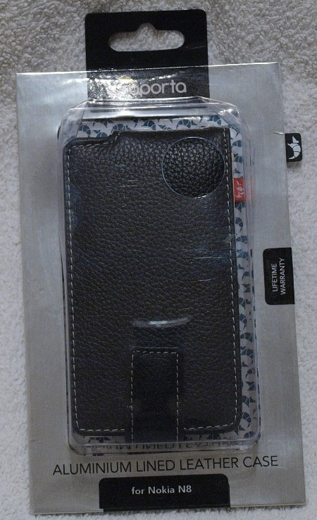 Proporta Aluminum leather case for Nokia N8   the review