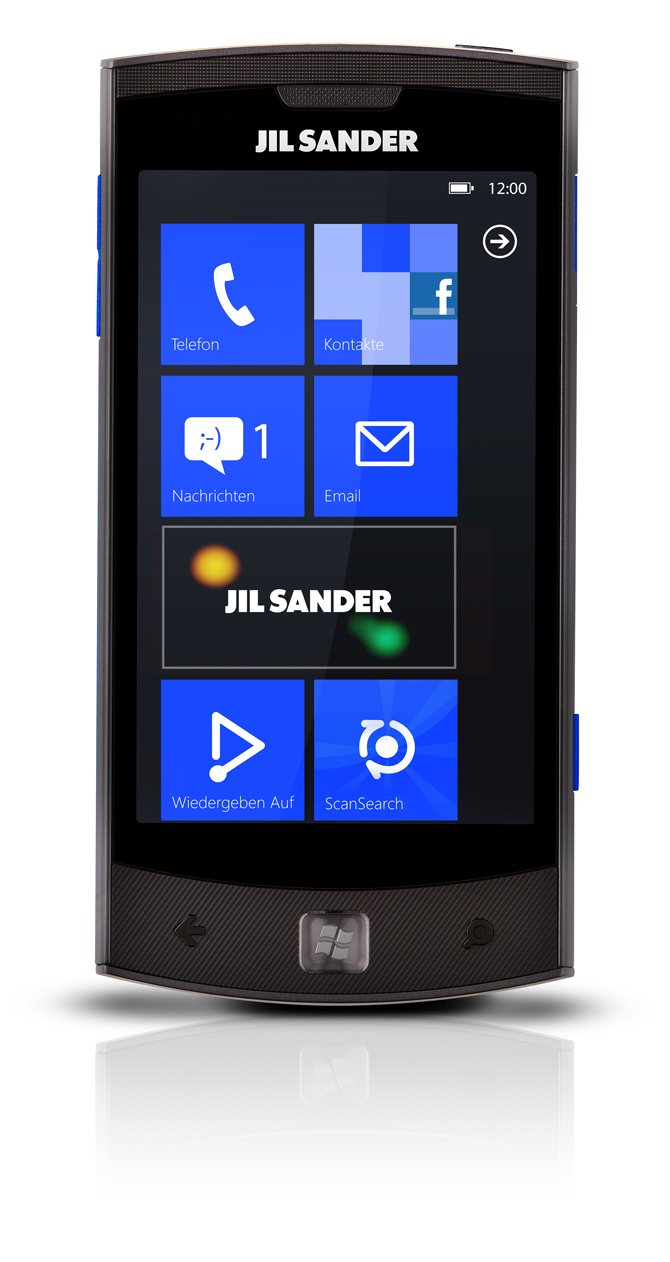 Jil Sander Mobile Windows Phone 7 Hutchison Austria releases Jil Sander Mobile   a Windows Phone 7