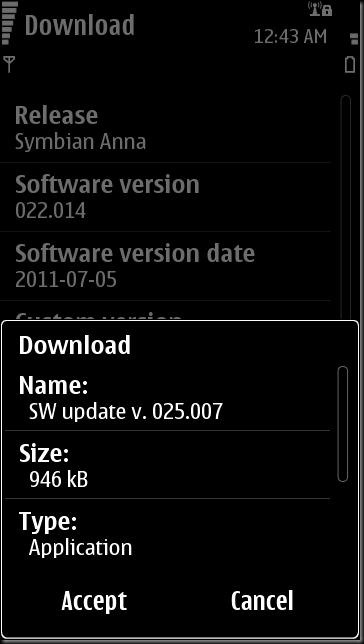 SC001 thumb Update time–N8 updated to v25, other S^3 devices updateable too?