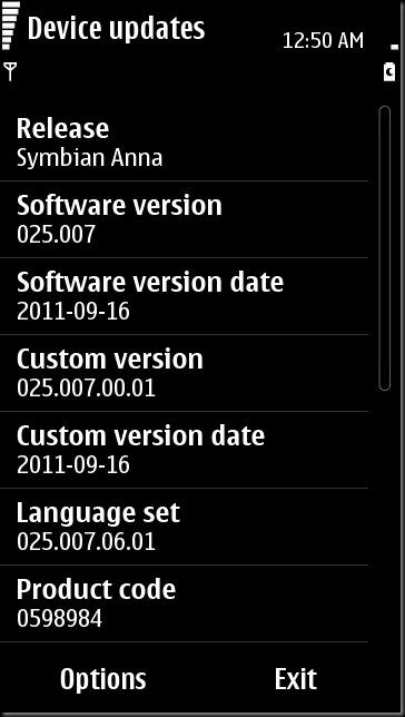 SC005 thumb Update time–N8 updated to v25, other S^3 devices updateable too?
